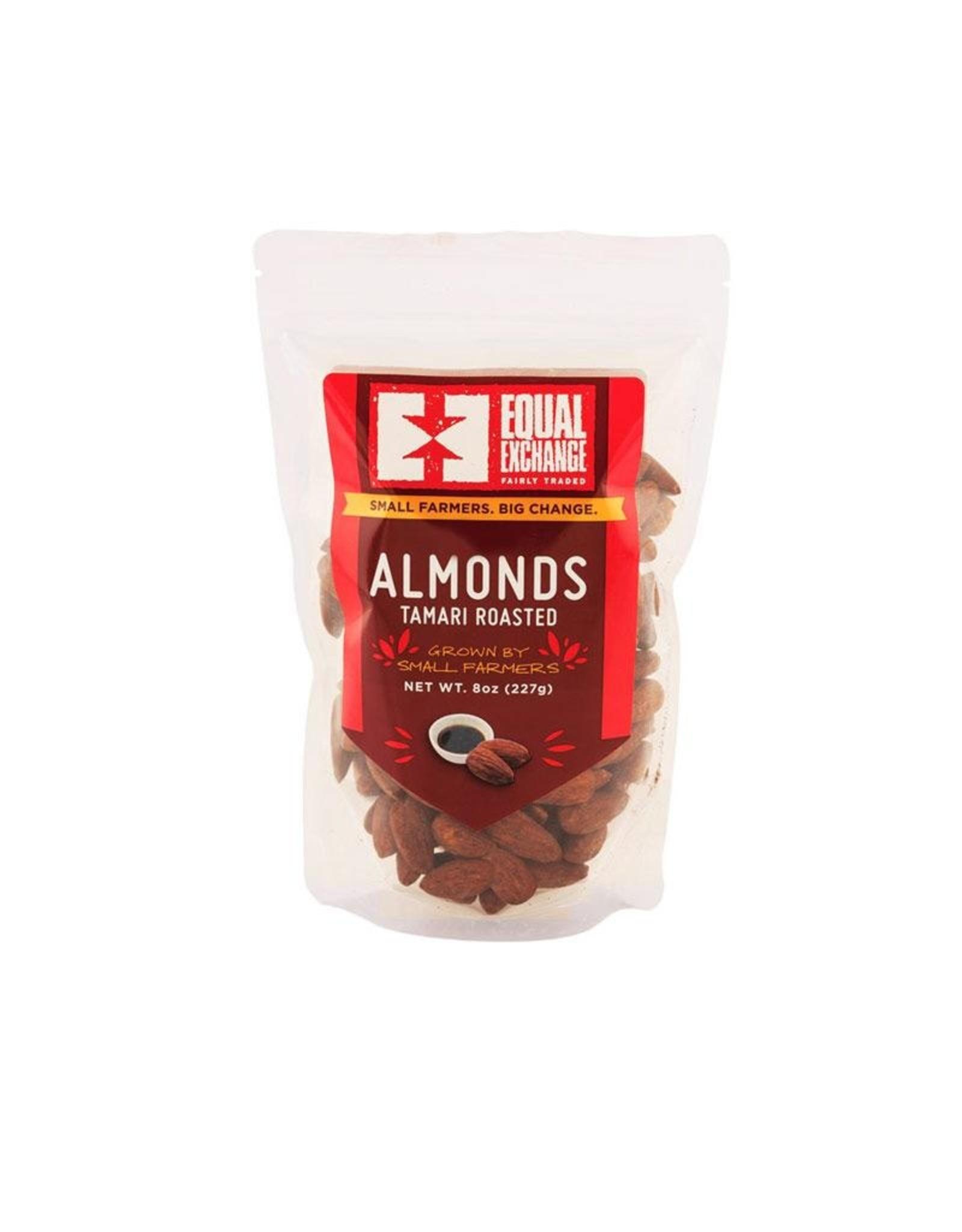 Equal Exchange Equal Exchange Organic Nuts Almonds 8 oz (Tamari)