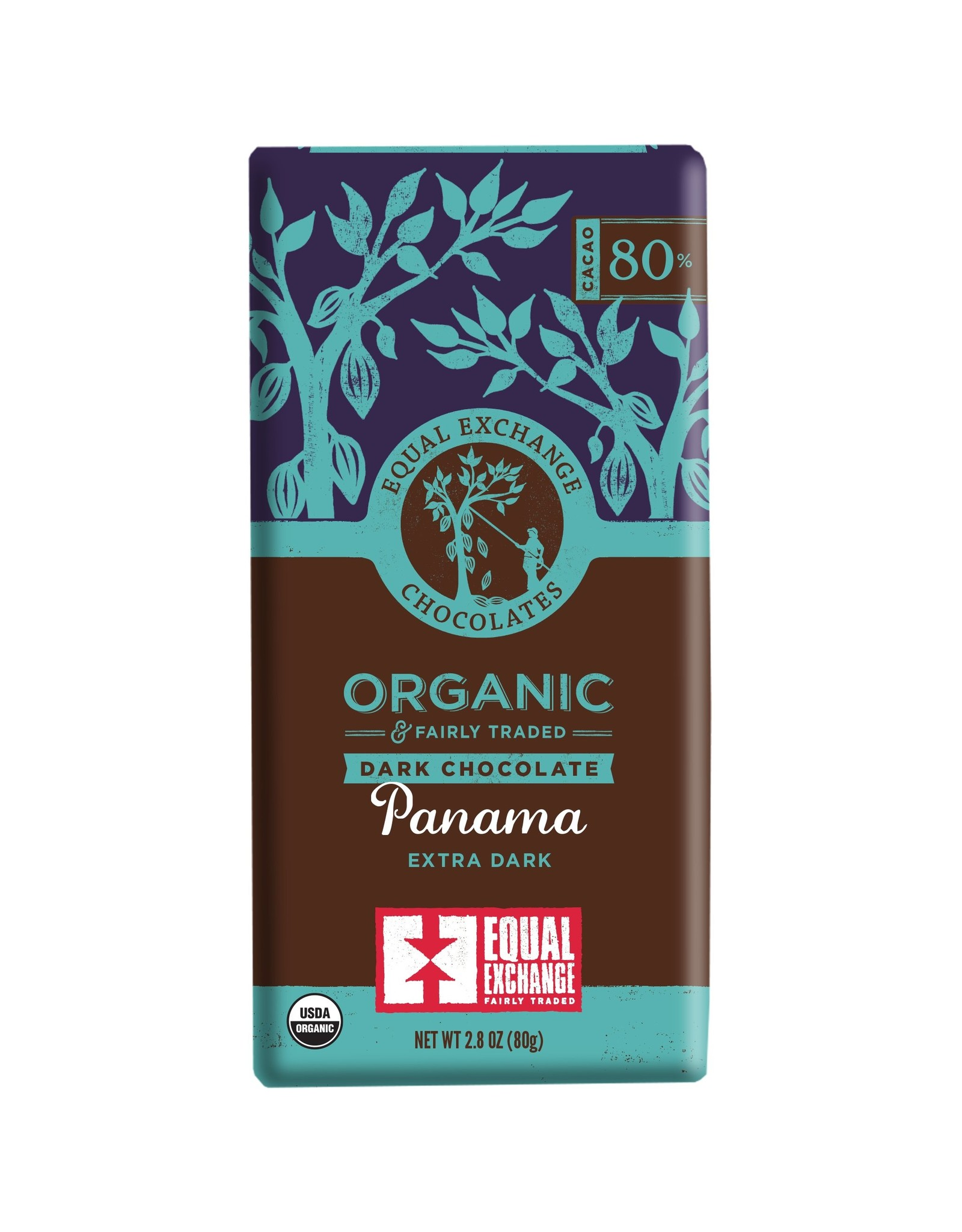Equal Exchange Equal Exchange Chocolate 2.8oz (Panama Extra Dark)