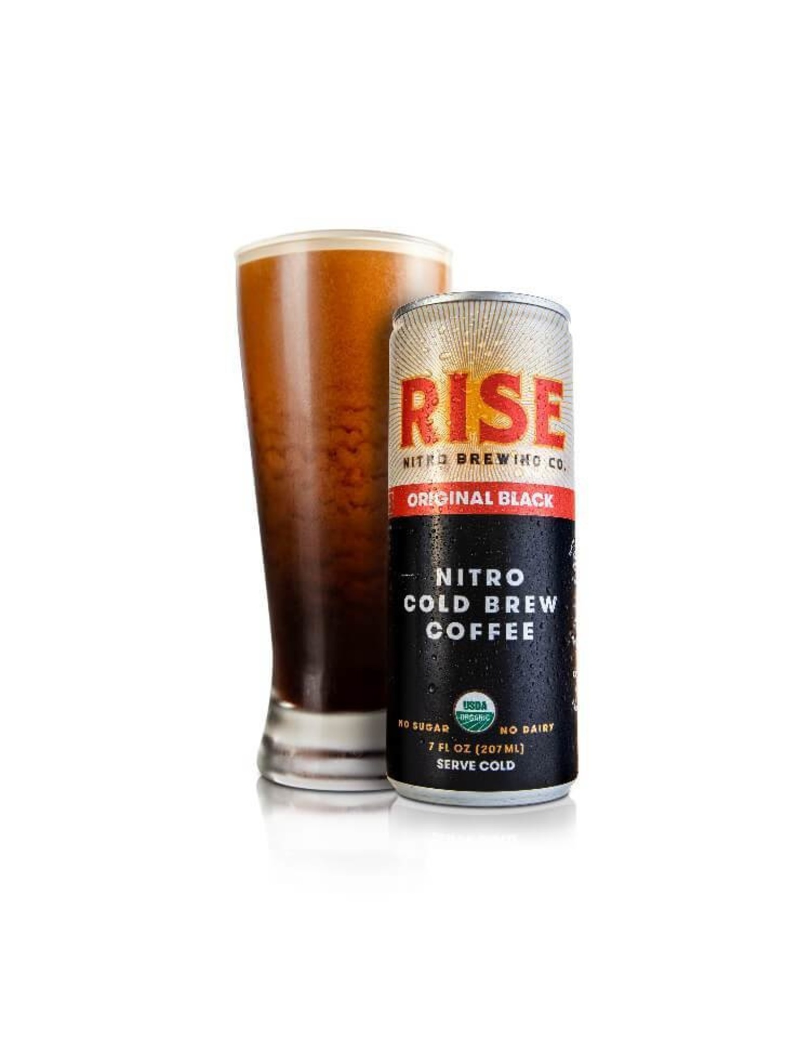 RISE Brewing Co. RISE Nitro Cold Brew (Original Black)