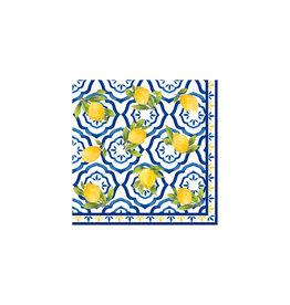 Le Cadeaux Le Cadeaux Napkin 5'' (Palermo/ Lemon)