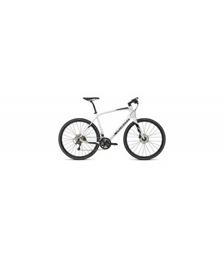 SPECIALIZED SIRRUS COMP CARBON - White Silver/Black/Light Silver SM