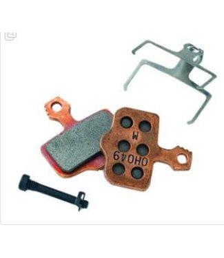 AVID Avid, Code 2011+ Patins de freins a disque en metal, dos en acier, paire