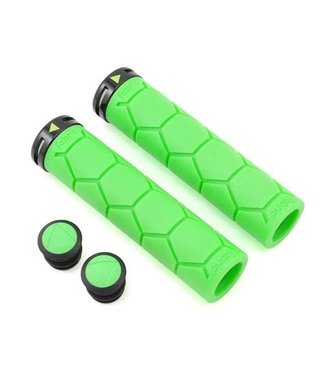 FABRIC FABRIC SILICONE LOCK ON GRIP NOIR/VERT