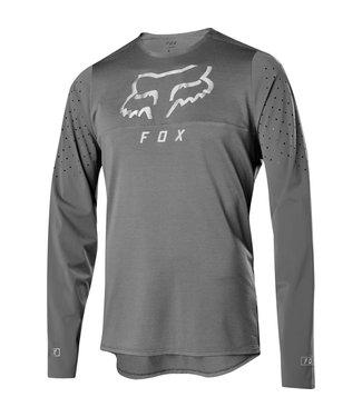 FOX FLEXAIR DELTA LS JERSEY [GRY VIN] M