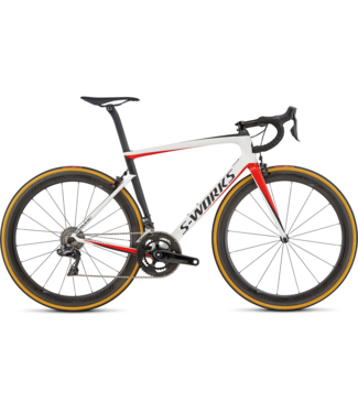 SPECIALIZED S-WORK TARMAC SL6 BLANC/ROUGE/NOIR 56