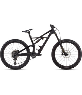 SPECIALIZED SW ENDURO FSR CARBON 27.5 - Gloss Satin Black / Black L