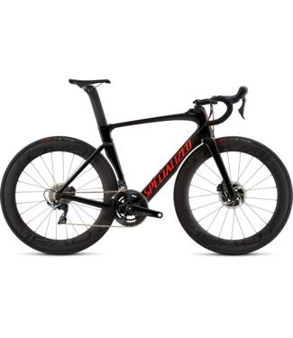 SPECIALIZED VENGE PRO DISC - Grn Chameleon/Tarmac Black Fade/Rkt Red/Clean 54