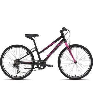 SPECIALIZED Girl's Hotrock 24 Street Black/Pink