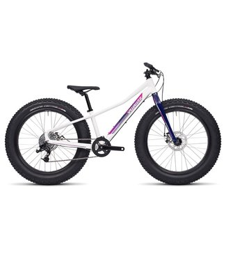 SPECIALIZED FATBOY 24 BLANC/ROSE FUTCHIA