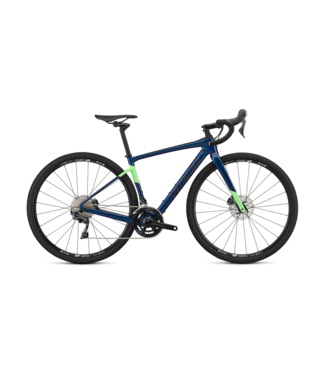 SPECIALIZED DIVERGE WMN COMP CARB- Gloss Chameleon Blue Green Flake/Acid Kiwi/Dream Silver 52
