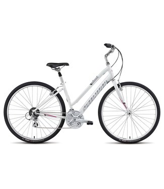 SPECIALIZED CR SPORT ST - Gloss White / Silver / Bright Pink S