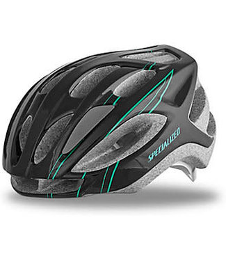 SPECIALIZED SIERRA HELMET WMN - Black/Emerald Arc .