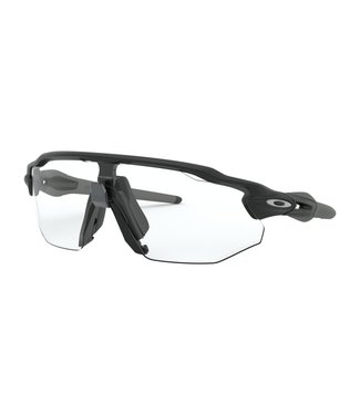 OAKLEY Radar Ev Advancer MATTE BLACK W/ CLEAR-BLACK PHOTO