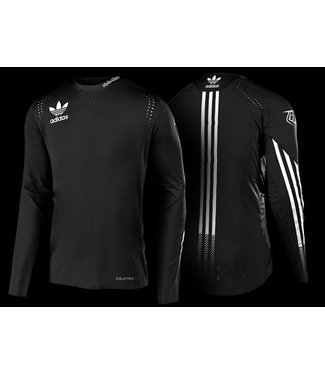 Troy Lee Designs ULTRA L/S JERSEY; LTD ADIDAS TEAM BLACK
