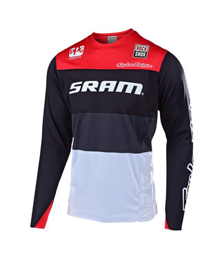 TROY LEE DESIGN SPRINT ELITE JERSEY; SRAM BETA BLACK / RED