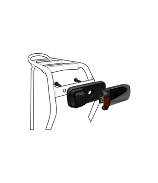 SPECIALIZED STIX REFLECTOR/RACK MOUNT BLK