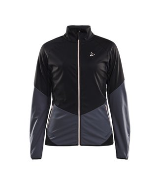 CRAFT GLIDE JKT W BLACK/ASPHALT