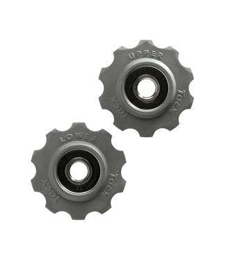 Tacx Galets a Roulements En Acier Inoxydable, T4020: Shimano/Campagnolo 10 dents