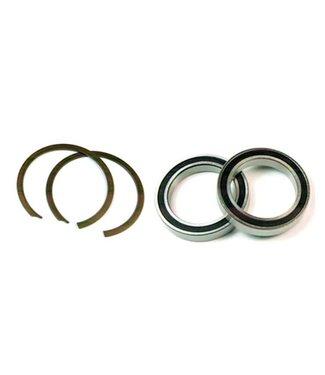 Wheels Manufacturing Jeu de pedalier BB30, 68/73mm, 42mm, 30mm, Acier, Noir, BB30-KIT