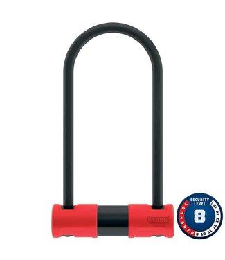ABUS 440A Alarm, Cadenas en U, Cle, 170x230mm, 6.7''x9'', epaisseur en mm: 12mm, Noir