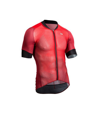 SUGOI MAILLOT RS CLIMBER,S ROUGE / SM