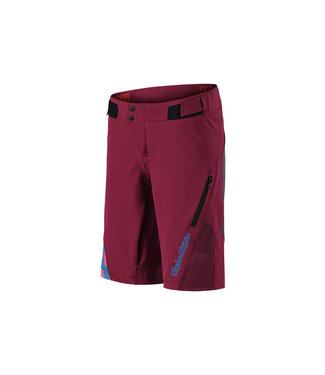 TROY LEE DESIGN SHORT RUCKUS FEM bourgogne LG