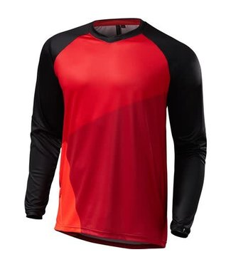 SPECIALIZED MAILLOT DEMO PRO LS ROUGE/NOIR LG