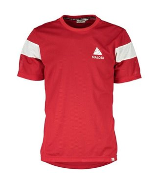 MALOJA MAILLOT PHYLLIT ROUGE MED