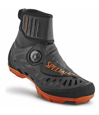 SPECIALIZED SOULIER DEFROSTER TRAIL MTB NOIR/ORANGE 44