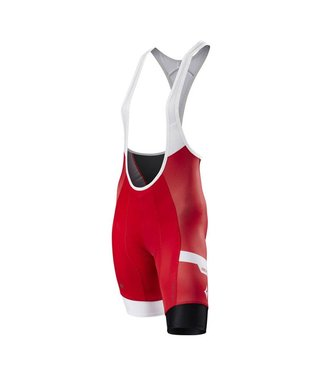 SPECIALIZED WOMEN'S SL PRO BIB SHORT - Team Red/White - XS