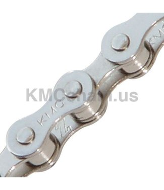 KMC Chain S1 x 112L, Single Speed, Light Silver