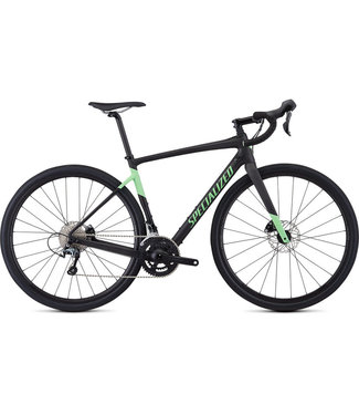 SPECIALIZED DIVERGE MEN - Carbon/Acid Kiwi 54