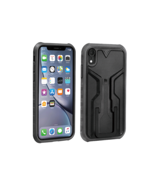 TOPEAK Ridecase with Mount - Fits iPhone XR, Black/Gray