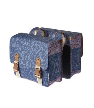 Basil Boheme Double Bag, Sacoche double, Indigo