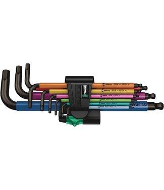 WERA Wera 950/9 Hex-Plus SB L-Key Hex Wrench Set - Metric, Multicolor