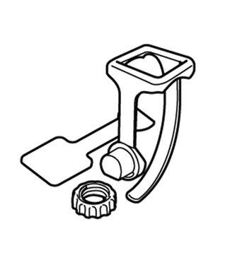 CAT EYE Collet, Pour cyclometres CatEye sans-fil/smart/GPS