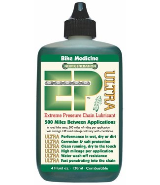 BIKE MEDICINE LUBRIFIANT À CHAINE EP ULTRA SYNTHETIC