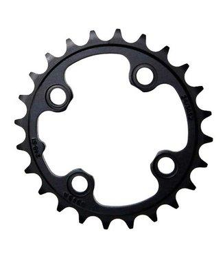 SRAM 24T Chainring, 11sp, BCD: 64, Aluminum, Black