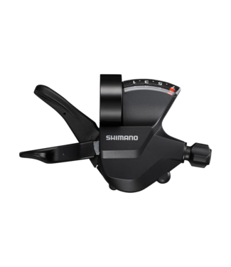 Shimano SHIFT LEVER, SL-M315-7R, RIGHT, 7-SPEED RAPIDFIRE PLUS, W/ OPTICAL GEAR DISPLAY