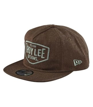 TROY LEE DESIGN MOTOR OIL SNAPBACK HEATHER BROWN OSFA