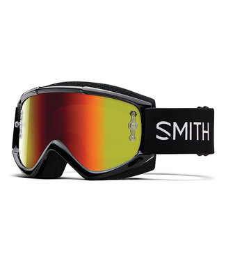 SMITH OFF ROAD GOGGLE FUEL V1 BLACK RED MIRROR