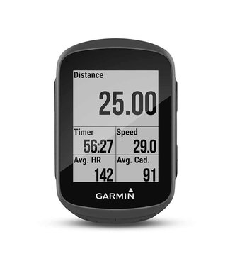 GARMIN Edge 130 Unite, Cyclometre, GPS: Oui, Cardio: En option, Cadence: Optionnelle, Noir, 010-01913-00