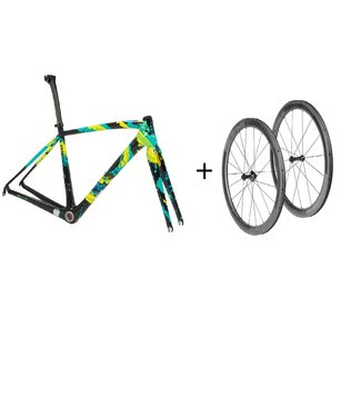 SPECIALIZED S-Works Amira SL4 Frameset HOLIDAY LTD 51 + roues Roval CLX 50