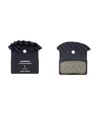 Shimano J03A, Disc Brake Pads, Shape: Shimano G-Type/F-Type/J-Type, Resin, Pair