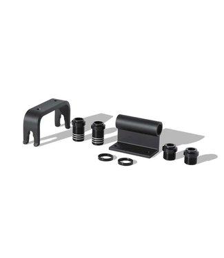 DELTA Multi Axle Bike Hitch Pro, Porte-velos pour boite de camionnette, 15/20mm