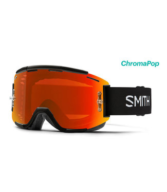 Smith Optics Squad MTB BLACK - CHROMAPOP EVERYDAY RED MIRROR