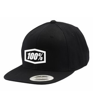 100% 100% Corpo Classic SnapBack Hat Black/White, One Size