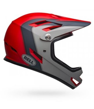 Bell CASQUE SANCTION ROUGE/GRIS M