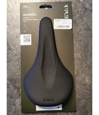 FIZIK Alpaca X5 - black/black 145mm