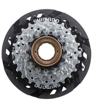 Shimano MULTIPLE FREEWHEEL SPROCKET, MF-TZ510-6-CP, 6-SPEED, 14-16-